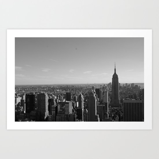 New York City Skyline 2 Art Print