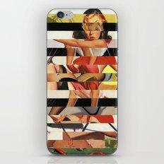 Glitch Pin-Up Redux: Lindsey iPhone & iPod Skin