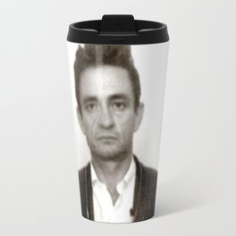Johnny Cash Mugshot Travel Mug