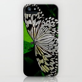 LACE -WINGED iPhone Case