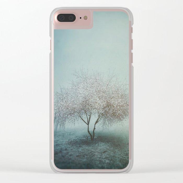 Blurred Hope Clear iPhone Case