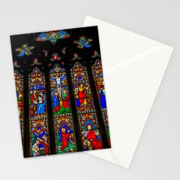 INRI Stained Glass Stationery Cards