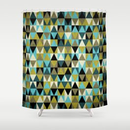 Triangles I Shower Curtain