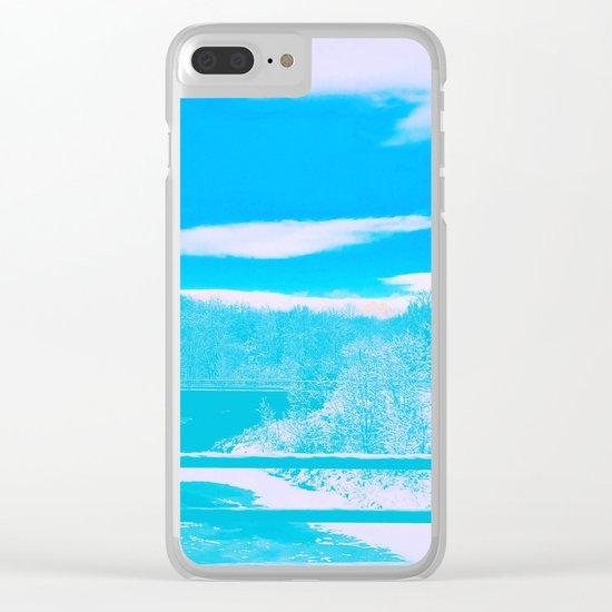 Winter Wanderland Clear iPhone Case