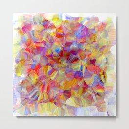 chromatubes Metal Print