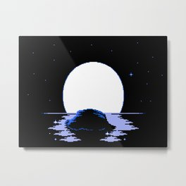 The  Whispering  Moon Metal Print