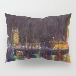London Cityscape Pillow Sham