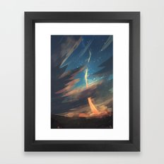 Liftoff Framed Art Print