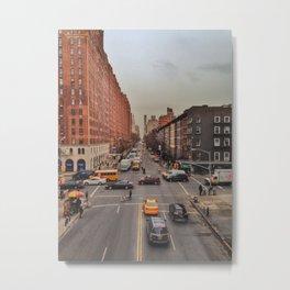 10th Avenue & West 23rd Street Metal Print