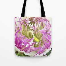 Caper Flower Blossom Tote Bag