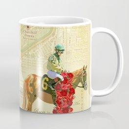 Artistic Kentucky Derby [vintage inspired] Map print Coffee Mug