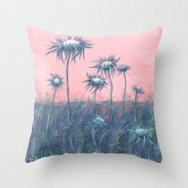 The ode to burdock Throw Pillow
