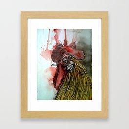 Roosting Framed Art Print