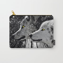 WOLF OF THE NIGHT FOREST Carry-All Pouch