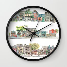 Street Wall Clock