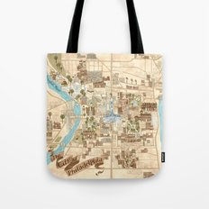 The City of Philadelphia Tote Bag