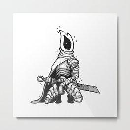 Tallow Knight Metal Print