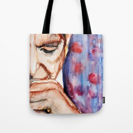 I'm Your Man, illustration by Ines Zgonc Tote Bag