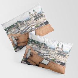 Cityscape of Salzburg, Austria Pillow Sham