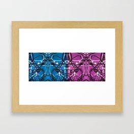 WIREWIREWIRE Framed Art Print