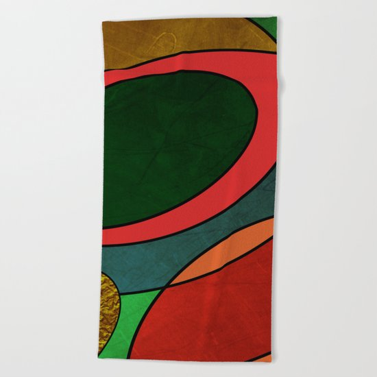 Abstract #325 Beach Towel
