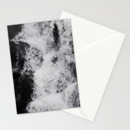 Foaming Waterfall Pareidolia Stationery Cards