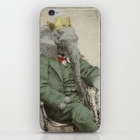yetiland iPhone & iPod Skins featuring Royal Portrait, 1931 by Eric Fan