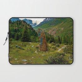 garden further alps kaunertal glacier tyrol austria europe Laptop Sleeve