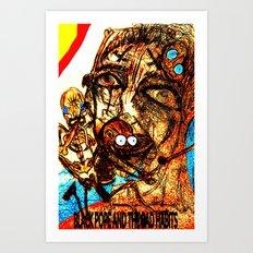 Black Pope Art Print