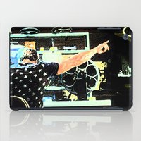 tyler durden iPad Cases featuring What Would Tyler Durden Do by Jay Joseph