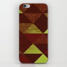 Dimensional Wood iPhone & iPod Skin