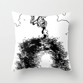 omg is not time for jokes Throw Pillow