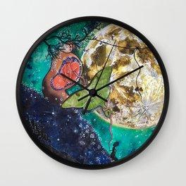 The Moons Abundance Wall Clock