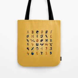 Eclectic Letters #2 Tote Bag