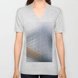 Minimalist architect drawing Unisex V-Neck