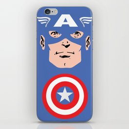 Captain A iPhone Skin