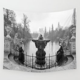 Fountains in Kensington Park of London, England Wall Tapestry