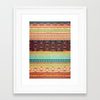 friday Framed Art Prints featuring Friday by Monty