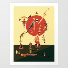 tishbite Art Print