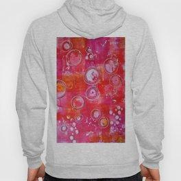 Abstract Pink Aura Hoody