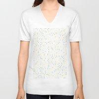 polka dot V-neck T-shirts featuring Polka Dot by Alisa Galitsyna