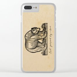 William Shakespeare, Exit Pursued by a Bear Clear iPhone Case