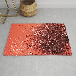 Cali Summer Vibes Lady Glitter #8 #shiny #decor #art #society6 Rug