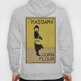 Vintage minimalist corn flour ad Beggarstaffs Hoody