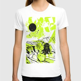 Depression on a Lonely Planet T-shirt