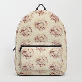 Flower pattern. Backpack