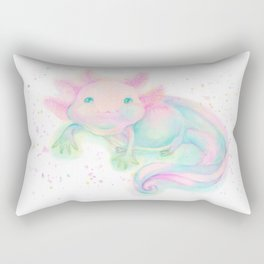 My sweet axolotl Rectangular Pillow