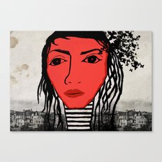 123. Canvas Print