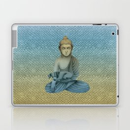 Buddha with dog4 Laptop & iPad Skin