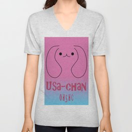 Usa-chan (Ouran High School Host Club) Unisex V-Neck